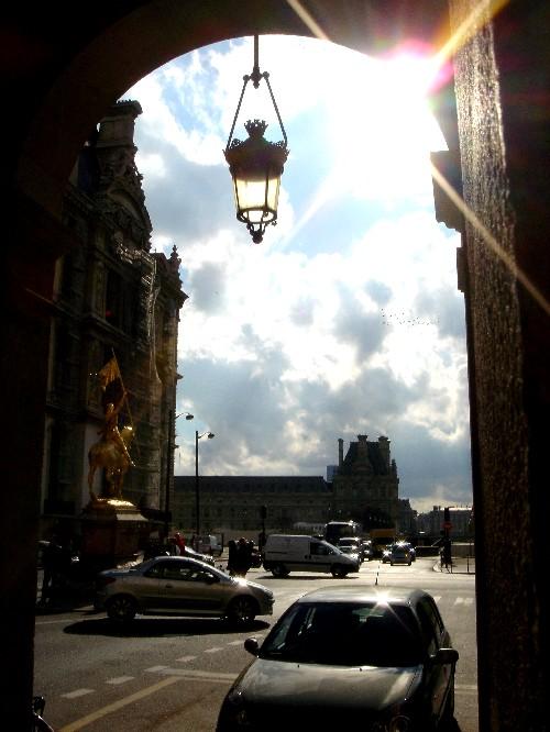 Lichtstraal  Parijs  2005