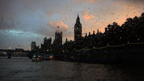 Rainy Day Londen 2012